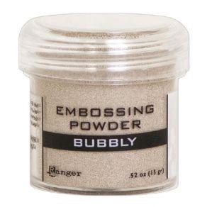 Poudre à embosser BUBBLY par Ranger. Scrapbooking et loisirs créatifs. Livraison rapide et cadeau dans chaque commande.