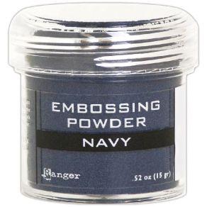 Poudre à embosser NAVY METALLIC par Ranger. Scrapbooking et loisirs créatifs. Livraison rapide et cadeau dans chaque commande.
