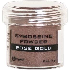 Poudre à embosser ROSE GOLD METALLIC