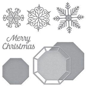Outils de découpe SNOWFLAKE SPLENDOR- CHRISTMAS CASCADE par Spellbinders. Scrapbooking et loisirs créatifs. Livraison rapide ...