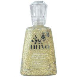 Vernis pailleté Nuvo Glitter Accents AZTEC GOLD par Tonic Studios. Scrapbooking et loisirs créatifs. Livraison rapide et cade...