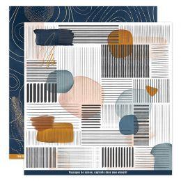 Papier imprimé OR SAISON 2 par Florilèges Design. Scrapbooking et loisirs créatifs. Livraison rapide et cadeau dans chaque co...