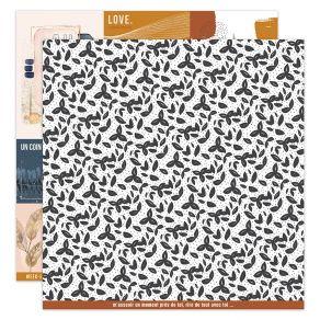 Papier imprimé OR SAISON 3 par Florilèges Design. Scrapbooking et loisirs créatifs. Livraison rapide et cadeau dans chaque co...