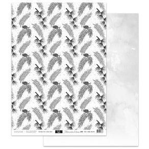 Papier imprimé MOMENTS D'HIVER 4