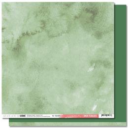 Papier uni 30,5 x 30,5 cm Back To Basics JARDIN D'HIVER 9 VERT FEUILLAGE par Les Ateliers de Karine. Scrapbooking et loisirs ...