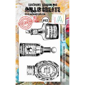 Tampons clear AALL and Create APOTHECARY BOTTLES 431 par AALL & Create. Scrapbooking et loisirs créatifs. Livraison rapide et...