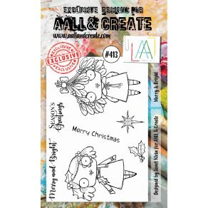Tampons clear AALL and Create MERRY & BRIGHT 413