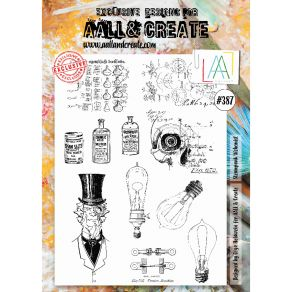 Tampons clear AALL and Create STEAMPUNK ALCHEMIST 387