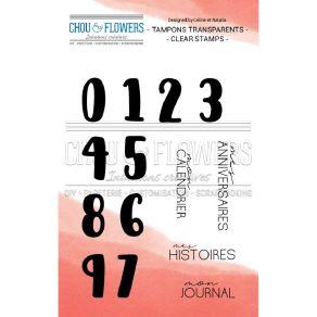 Tampons clear Esprit Cottage CHIFFRE NOEL par Chou and Flowers. Scrapbooking et loisirs créatifs. Livraison rapide et cadeau ...
