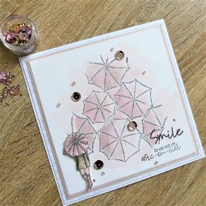 Tampons clear Esprit Cottage RAIN par Chou and Flowers. Scrapbooking et loisirs créatifs. Livraison rapide et cadeau dans cha...