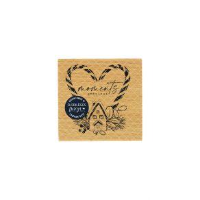 Tampon bois PRÉCIEUX MOMENTS par Florilèges Design. Scrapbooking et loisirs créatifs. Livraison rapide et cadeau dans chaque ...