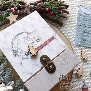 """Kit exclusif NOVEMBRE 2020 """"Oh Winter"""" par Variations Créatives. Scrapbooking et loisirs créatifs. Livraison rapide et cadeau..."""