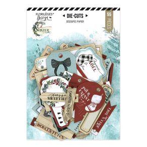 Die cuts imprimés Oh Winter ÉTIQUETTES À CADEAUX par Florilèges Design. Scrapbooking et loisirs créatifs. Livraison rapide et...