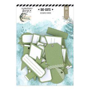 Étiquettes N°26 VERT TILLEUL par Florilèges Design. Scrapbooking et loisirs créatifs. Livraison rapide et cadeau dans chaque ...