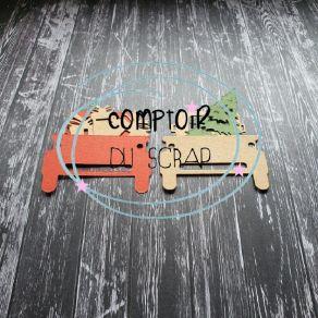 Outil de découpe CAMION DE NOEL par Comptoir du Scrap. Scrapbooking et loisirs créatifs. Livraison rapide et cadeau dans chaq...