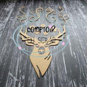Outil de découpe CERF par Comptoir du Scrap. Scrapbooking et loisirs créatifs. Livraison rapide et cadeau dans chaque commande.