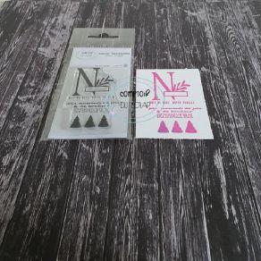 Tampon clear MONOGRAMME N par Comptoir du Scrap. Scrapbooking et loisirs créatifs. Livraison rapide et cadeau dans chaque com...