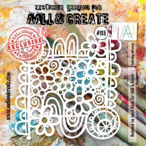 Pochoir AALL and Create SATURDAY MORNING 118 par AALL & Create. Scrapbooking et loisirs créatifs. Livraison rapide et cadeau ...
