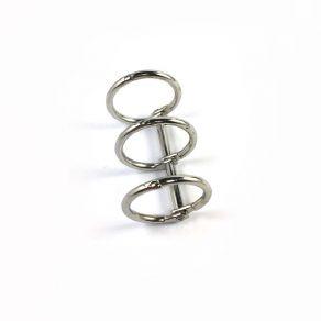Reliure 3 anneaux Diamètre 2 cm ARGENT