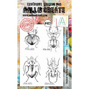 Tampons clear AALL and CREATE CRAWLING CREATURES 402