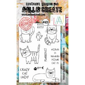 Tampons clear AALL and CREATE FELINES 408