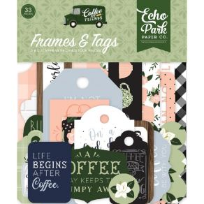 Die cuts Coffee & Friends FRAMES & TAGS
