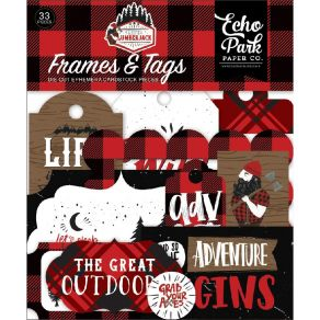 Die cuts Let's Lumberjack FRAMES & TAGS