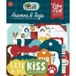 Die cuts My Dog FRAMES & TAGS