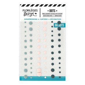 Dots SAKURA par Florilèges Design. Scrapbooking et loisirs créatifs. Livraison rapide et cadeau dans chaque commande.