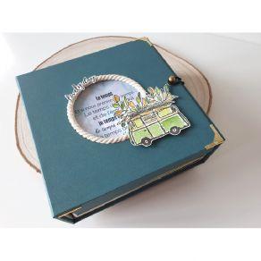 Fiche technique Kit exclusif Février 2020 par Variations Créatives. Scrapbooking et loisirs créatifs. Livraison rapide et cad...