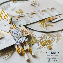 Coffret créatif LES CHOUPINOUS BANQUISE par Florilèges Design. Scrapbooking et loisirs créatifs. Livraison rapide et cadeau d...