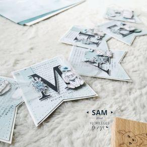 Coffret créatif LES CHOUPINOUS CAMPAGNE par Florilèges Design. Scrapbooking et loisirs créatifs. Livraison rapide et cadeau d...
