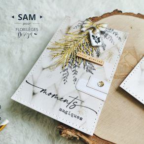 Tampons clear SOUVENIRS MAGIQUES par Florilèges Design. Scrapbooking et loisirs créatifs. Livraison rapide et cadeau dans cha...