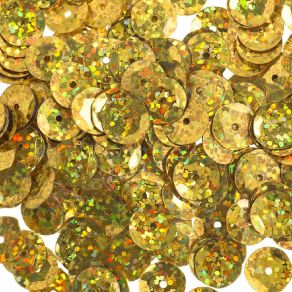 450 sequins ronds 10 mm GOLD