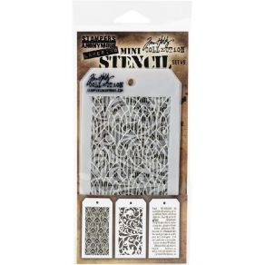 Set Mini pochoirs Tim Holtz 49