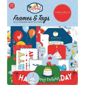 Die cuts Let's Celebrate TAGS & FRAMES