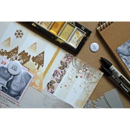 Outils de découpe MONTAGNES ENNEIGEES par Comptoir du Scrap. Scrapbooking et loisirs créatifs. Livraison rapide et cadeau dan...