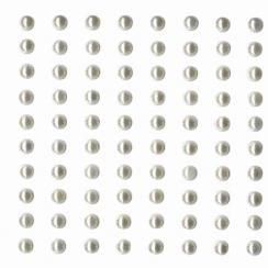 Demi perles Ivoire par Artemio. Scrapbooking et loisirs créatifs. Livraison rapide et cadeau dans chaque commande.