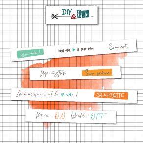 Masking Tape YOU ROCK par DIY and Cie. Scrapbooking et loisirs créatifs. Livraison rapide et cadeau dans chaque commande.