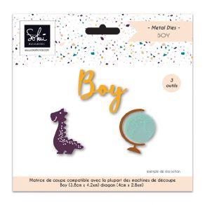 Outils de découpe SO'BB BOY par Sokai. Scrapbooking et loisirs créatifs. Livraison rapide et cadeau dans chaque commande.