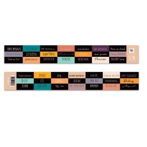 Planche D'étiquettes SO'BB BANDE DE MOTS par Sokai. Scrapbooking et loisirs créatifs. Livraison rapide et cadeau dans chaque ...