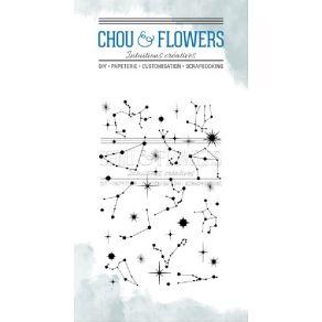Tampons clear CONSTELLATION par Chou and Flowers. Scrapbooking et loisirs créatifs. Livraison rapide et cadeau dans chaque co...