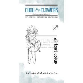 Tampons clear DOUDOU SAGITTAIRE par Chou and Flowers. Scrapbooking et loisirs créatifs. Livraison rapide et cadeau dans chaqu...