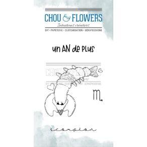 Tampons clear DOUDOU SCORPION par Chou and Flowers. Scrapbooking et loisirs créatifs. Livraison rapide et cadeau dans chaque ...