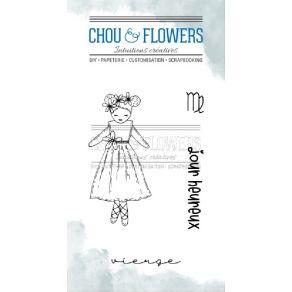 Tampons clear DOUDOU VIERGE par Chou and Flowers. Scrapbooking et loisirs créatifs. Livraison rapide et cadeau dans chaque co...
