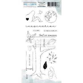 Tampons clear INSPIRATION par Chou and Flowers. Scrapbooking et loisirs créatifs. Livraison rapide et cadeau dans chaque comm...