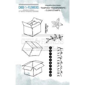 Tampons clear SURPRISE par Chou and Flowers. Scrapbooking et loisirs créatifs. Livraison rapide et cadeau dans chaque commande.