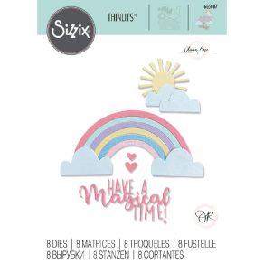 Outils de découpe RAINBOW MAGIC par Sizzix. Scrapbooking et loisirs créatifs. Livraison rapide et cadeau dans chaque commande.