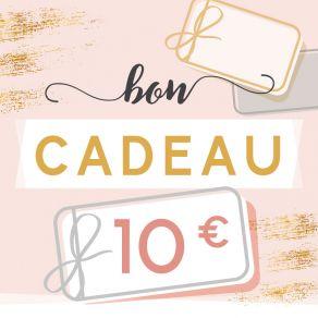 BON CADEAU 10 EUROS par . Scrapbooking et loisirs créatifs. Livraison rapide et cadeau dans chaque commande.