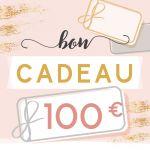 BON CADEAU 100 EUROS par . Scrapbooking et loisirs créatifs. Livraison rapide et cadeau dans chaque commande.